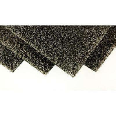 Slate Grey 6 ft. x 8 ft. Artificial Grass Synthetic Lawn Turf Indoor/Outdoor Carpet