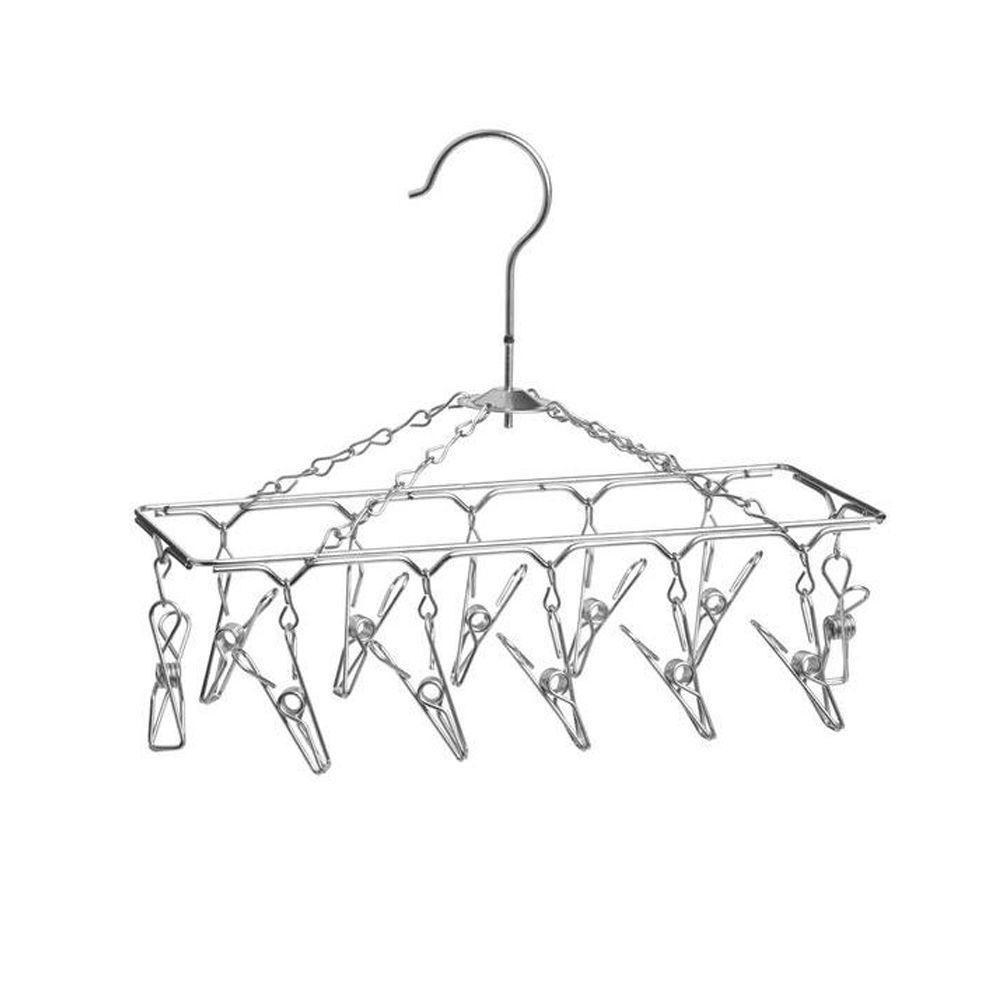 Honey-Can-Do Chrome Hanging Drying Rack