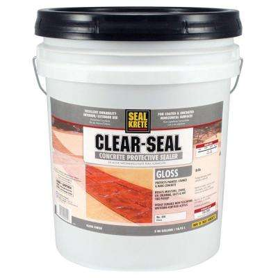 5 gal. Gloss Clear Seal Concrete Protective Sealer