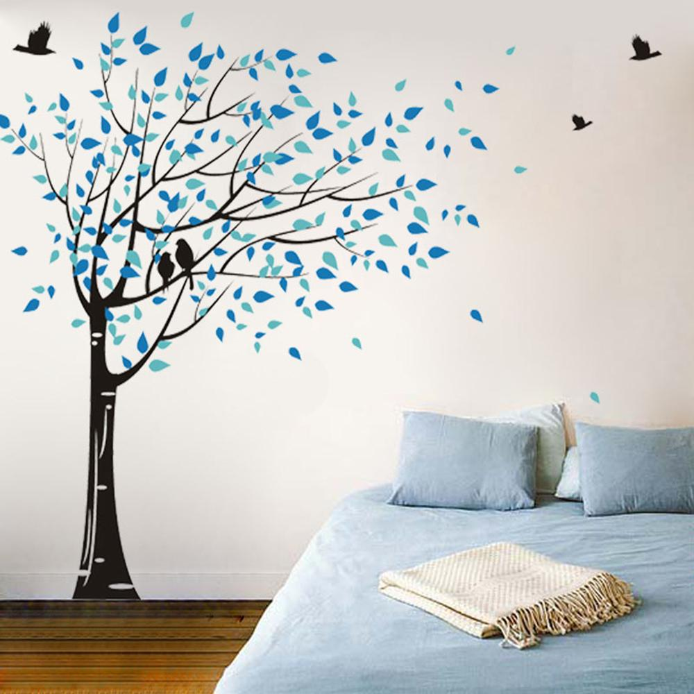 Black Tree, Geyser Blue And Vivid