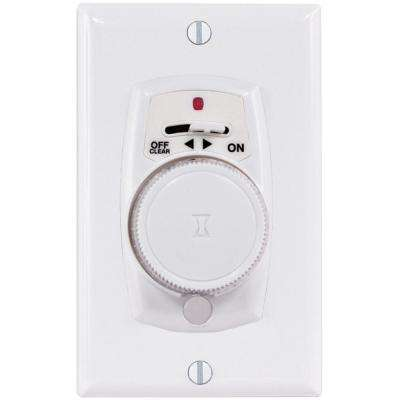 4-Amp Programmable 24-Hour Security In-Wall Dial Timer