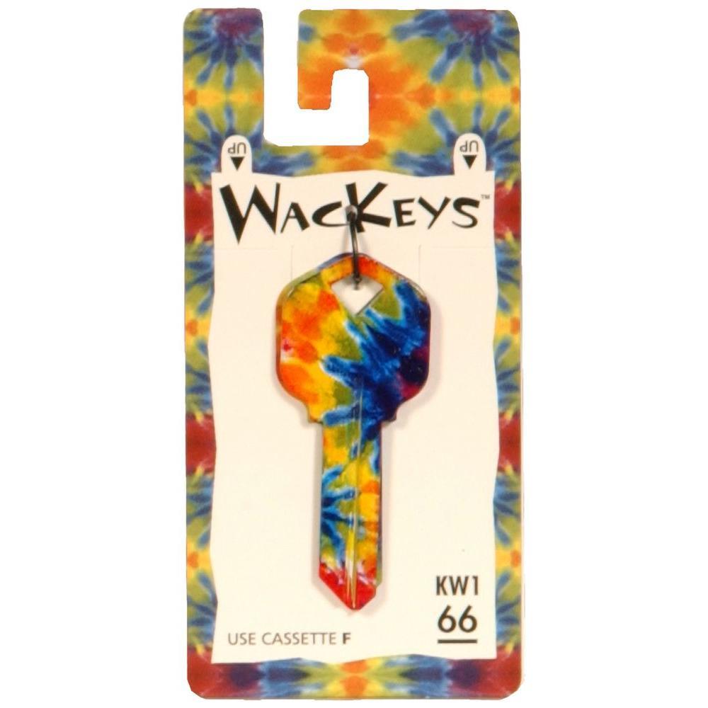 #66 Blanks Wackey Tie Dye Key