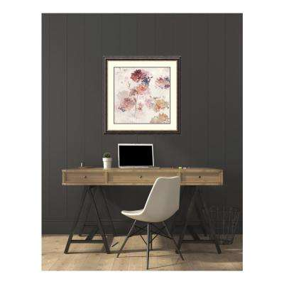 33.75 in. W x 33.75 in. H Sweet Hydrangea III by Asia Jensen Printed Framed Wall Art