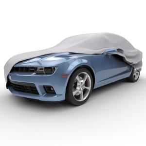 Heavy-Duty Fleece Lined Car Cover for cars from 229 to 264 or 22 in Length 5 Layer