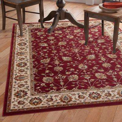 Sonoma Valentino Red 7 ft. 10 in. x 11 ft. 2 in. Area Rug