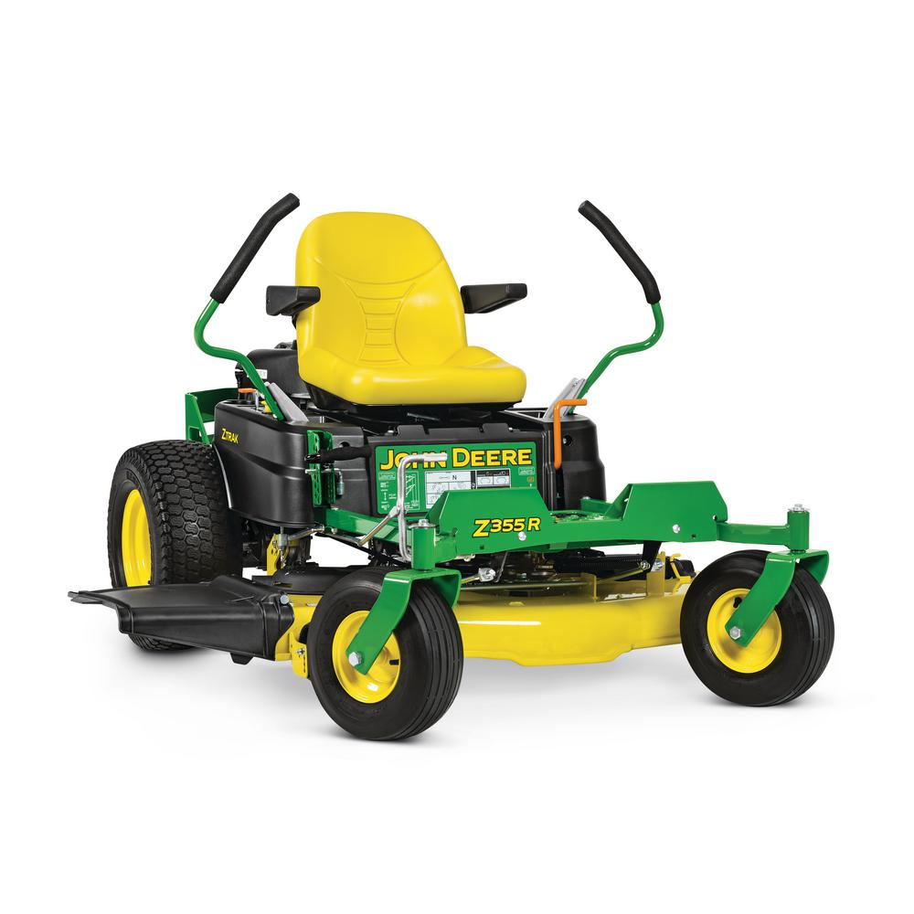 John Deere Zero Turn Mowers : John deere z r in hp dual hydrostatic gas zero