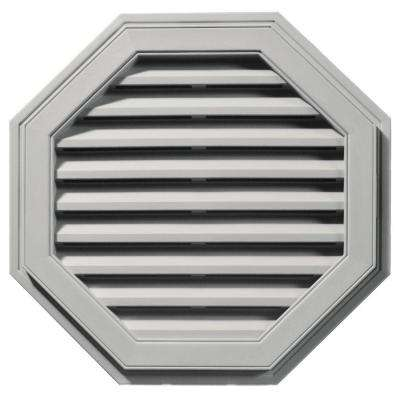 27 in. Octagon Gable Vent #030 Paintable