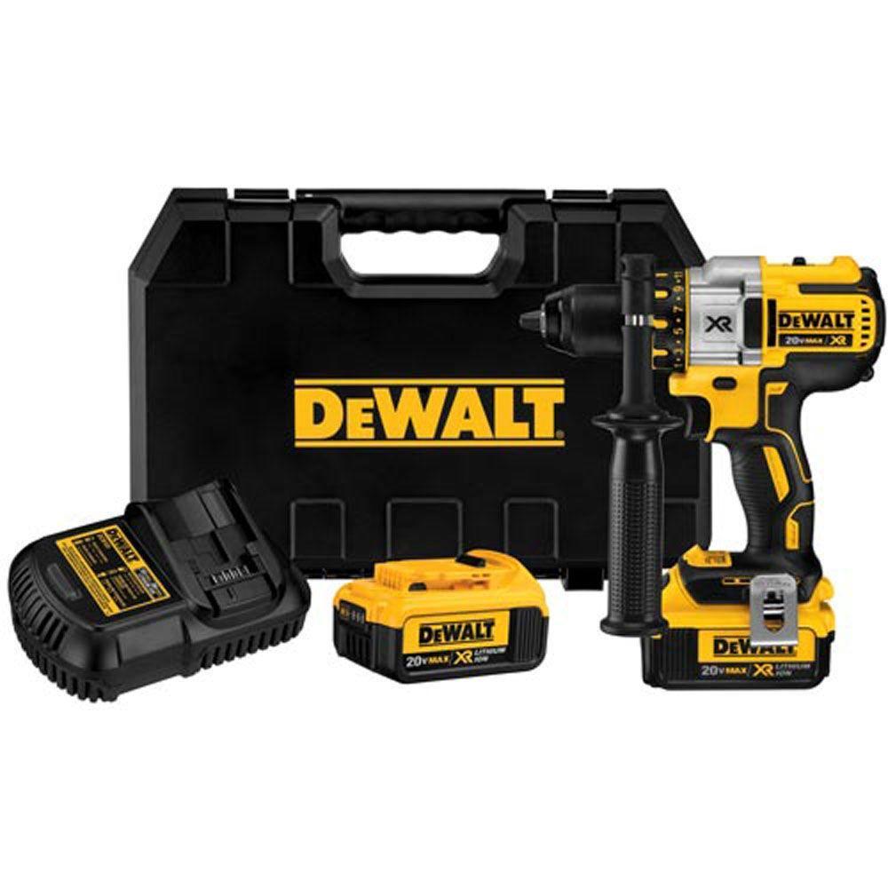 DEWALT 20-Volt MAX XR Lithium-Ion Cordless Brushless Premium 3-Speed Drill/Driver
