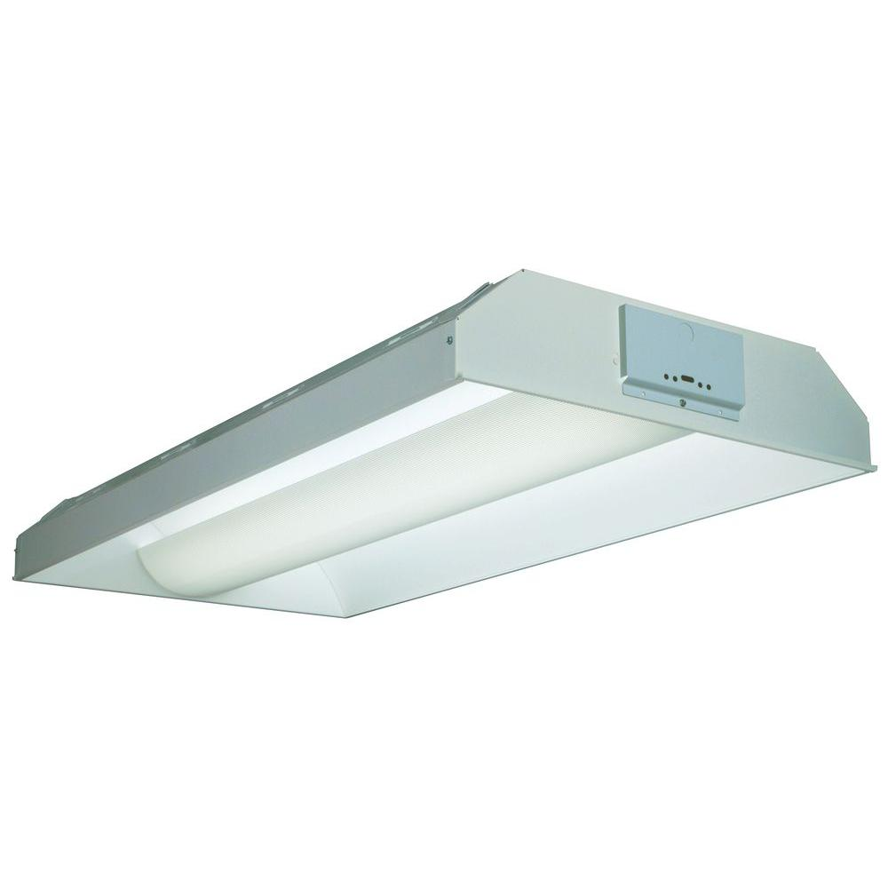 Lithonia Lighting *657097 3LT FLUOR ARCH TROFF     WH