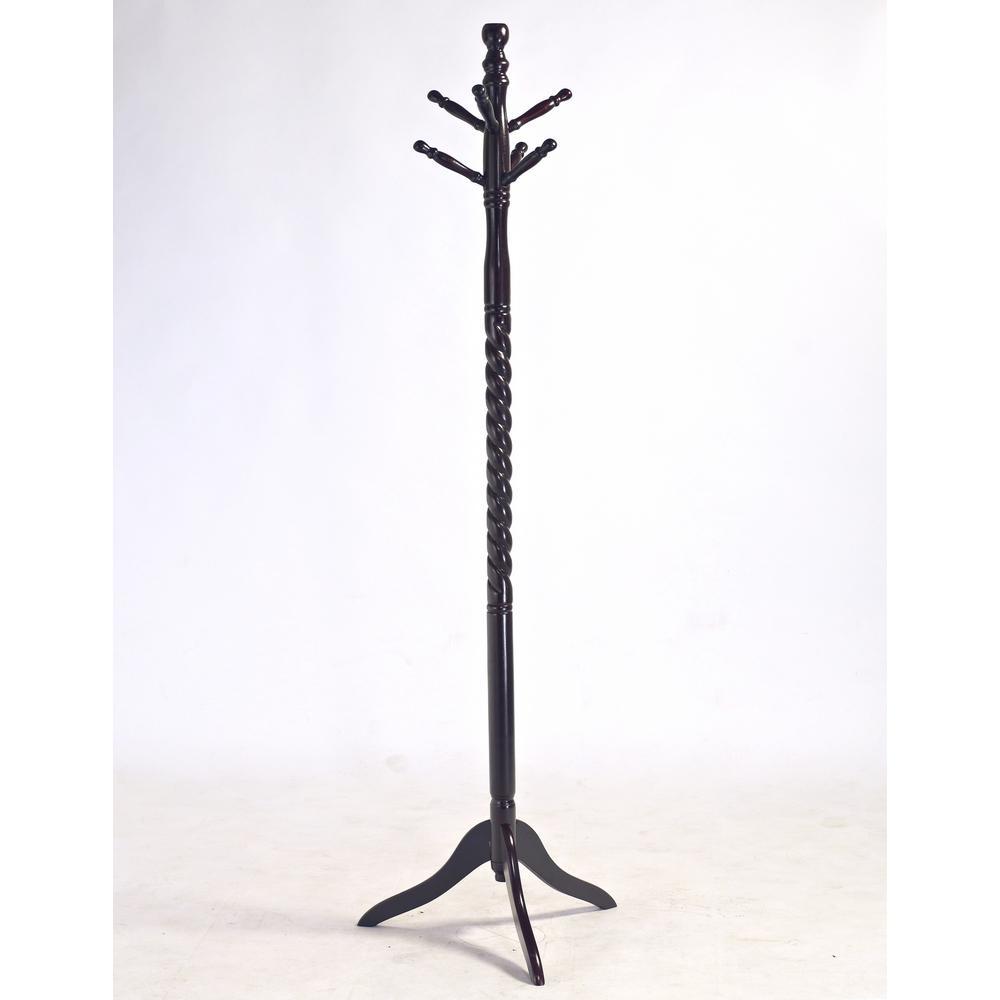 Homecraft Furniture Cherry 6-Hook Coat Rack