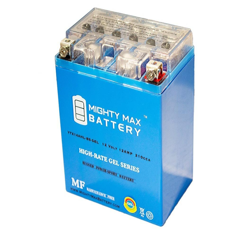 MIGHTY MAX BATTERY 12-Volt 12 Ah 210 CCA GEL Rechargeable Sealed Lead Acid (SLA) Powersport Battery