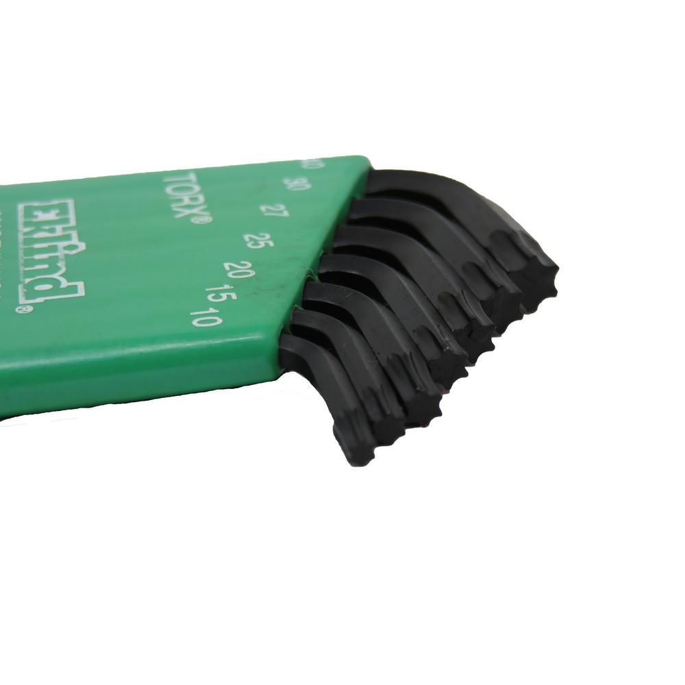 Pack of 5 Eklind 15860 T60 Short Series Torx L-Key, Eklind Tool