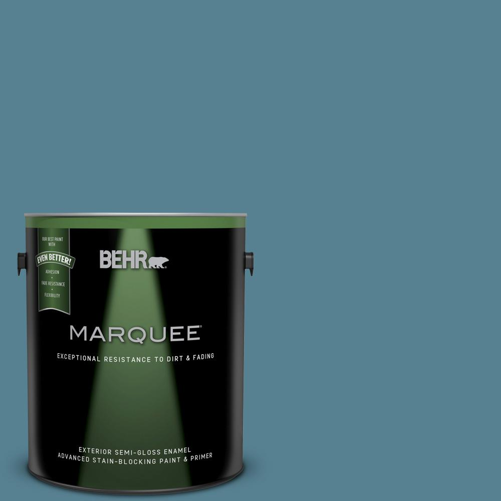 Behr marquee 1 gal s470 5 blueprint semi gloss enamel exterior s470 5 blueprint semi gloss enamel exterior malvernweather Image collections
