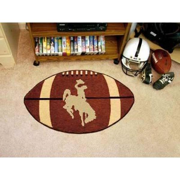 University of Wyoming Cowboys Logo Area Rug