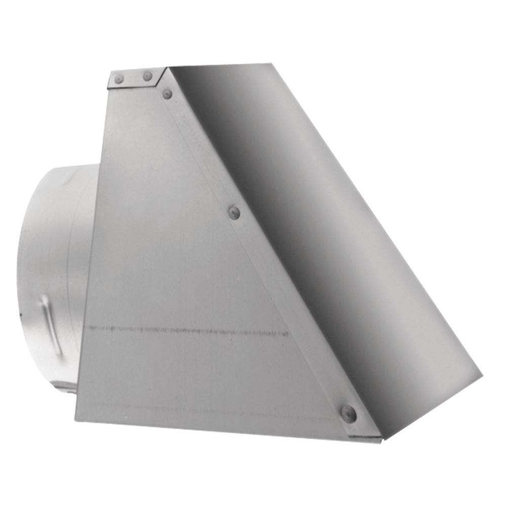 DuraVent PelletVent 8 in. x 8.25 in. Fixed Horizontal Chimney Cap