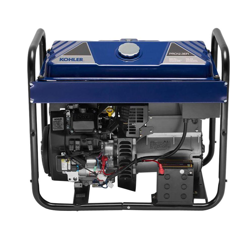 10500-Watt Gasoline Powered Electric Start Portable Generator with Command PRO