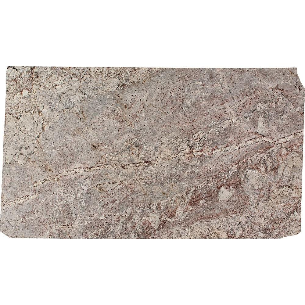 Stonemark 3 In X Granite Countertop Sample White Springs