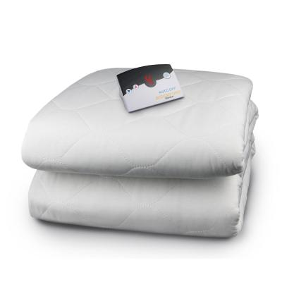 8.1 in. Full Polyester Mattress Pad