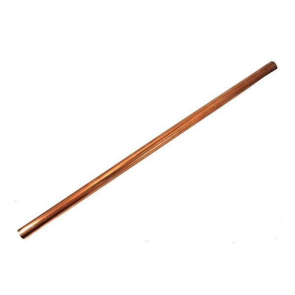 1/2 in. x 2 ft. Copper Type L Hard Straight Pipe
