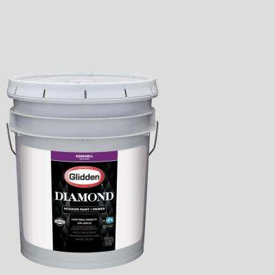 5 gal. #HDGCN56U Touch Of Grey Eggshell Interior Paint with Primer
