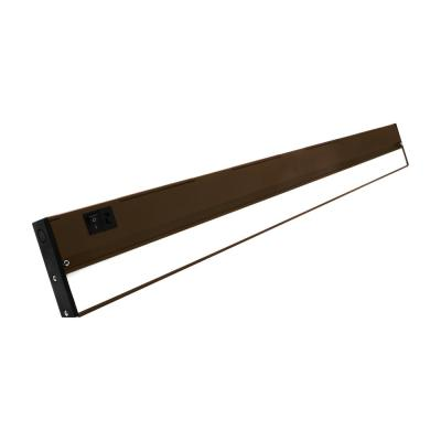 NUC-5 Series 30 in. Oil Rubbed Bronze Selectable LED Under Cabinet Light
