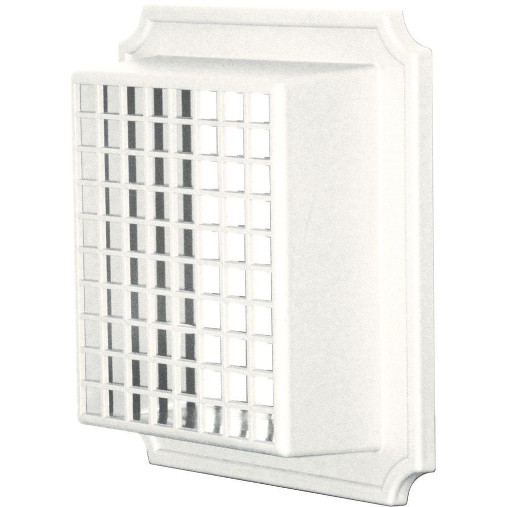 Builders Edge Exhaust Vent Small Animal Guard #123-White