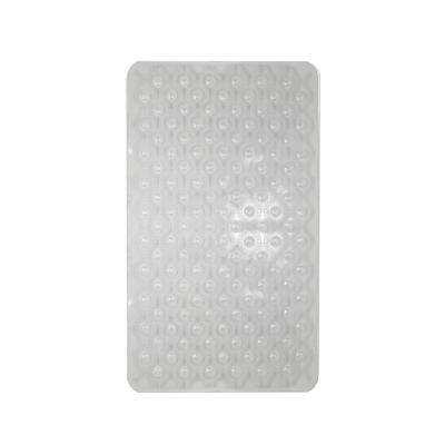 15.50 in. x 27.25 in. Bubble Wave Bath Mat