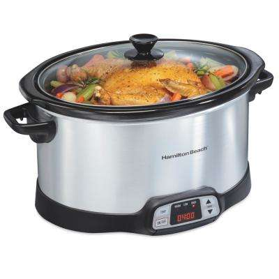 Programmable 8 Qt. Slow Cooker