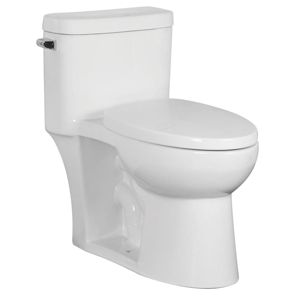 Fabulous Transolid Garfield 1 Piece 1 28 Gpf Single Flush Elongated Toilet In White Seat Included Pabps2019 Chair Design Images Pabps2019Com