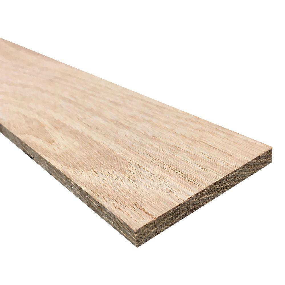 1/4 in. x 3 in. x 3 ft. Hobby Board Kiln Dried S4S Oak Board (40-Piece)