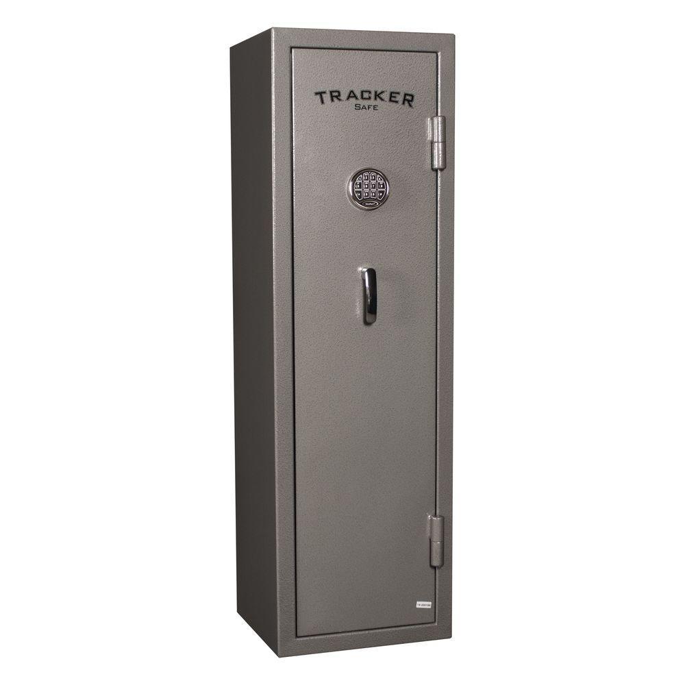 8-Gun Fire-Resistant Electronic Lock Gun Safe, Gray