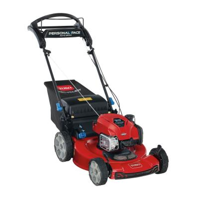 Toro Recycler 22-inch Briggs & Stratton SmartStow Personal Pace High-Wheel Drive Gas Walk Behind Self Propelled Lawn Mower