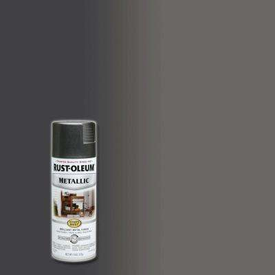 11 oz. Metallic Charcoal Protective Spray Paint (6-Pack)