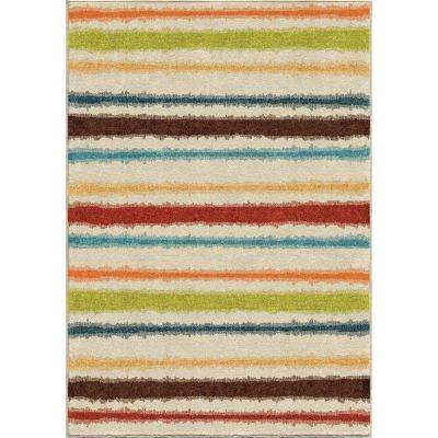 Lines of Color Multi 8 ft. x 11 ft. Indoor Area Rug