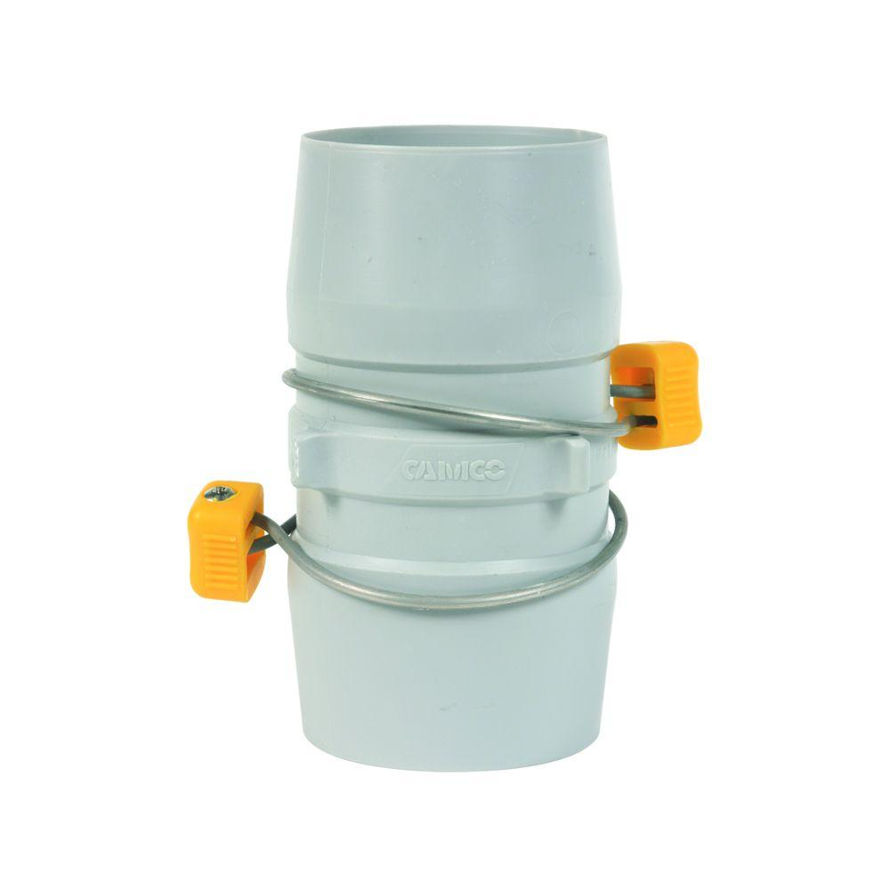 3 in. x 3 in. Plastic Slip Internal Hose Coupler