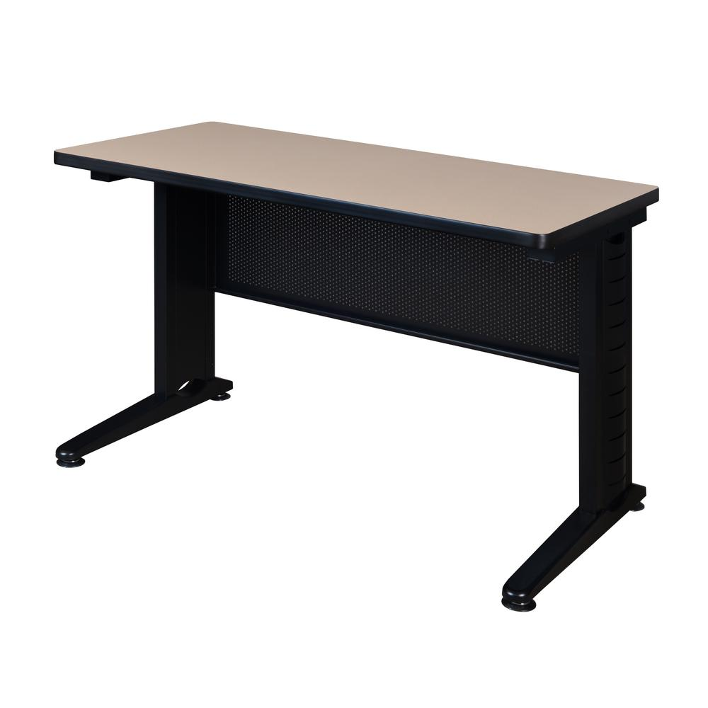 Fusion Beige 48 in. W x 24 in. D Training Table