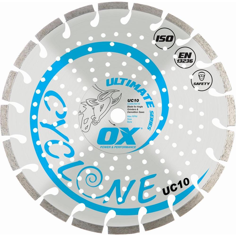 OX Ultimate Concrete 7/8 in. - 5/8 in. Bore 4.5 in. Diamond Blade