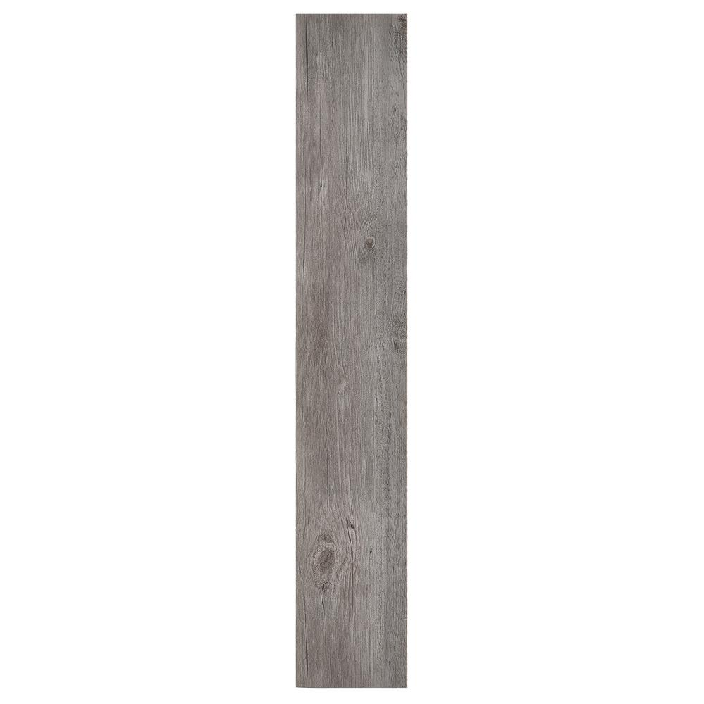 Nexus Light Grey Oak 6 in. x 36 in. Vinyl Plank