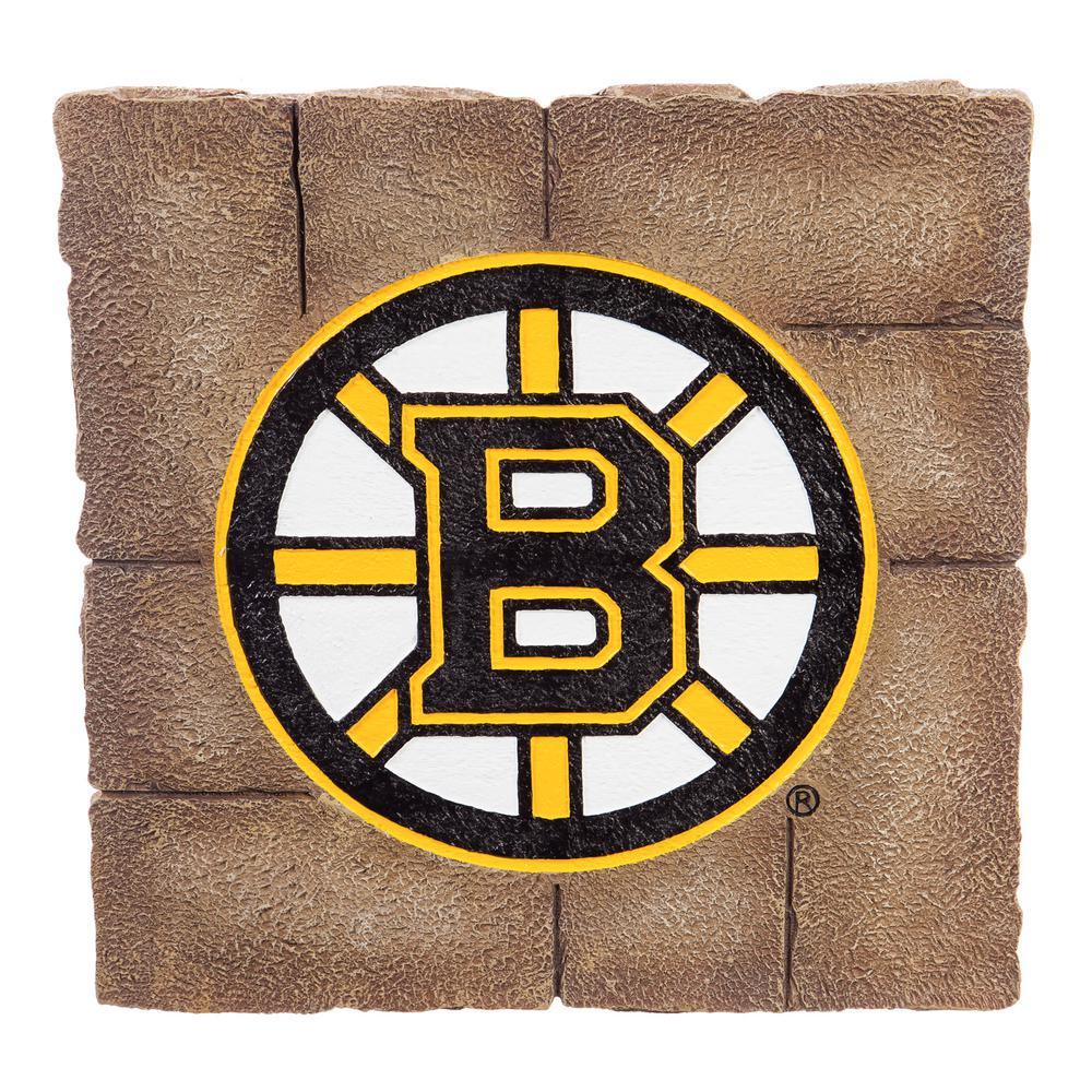 Boston Bruins 12 in. x 12 in. Decorative Garden Stepping Stone