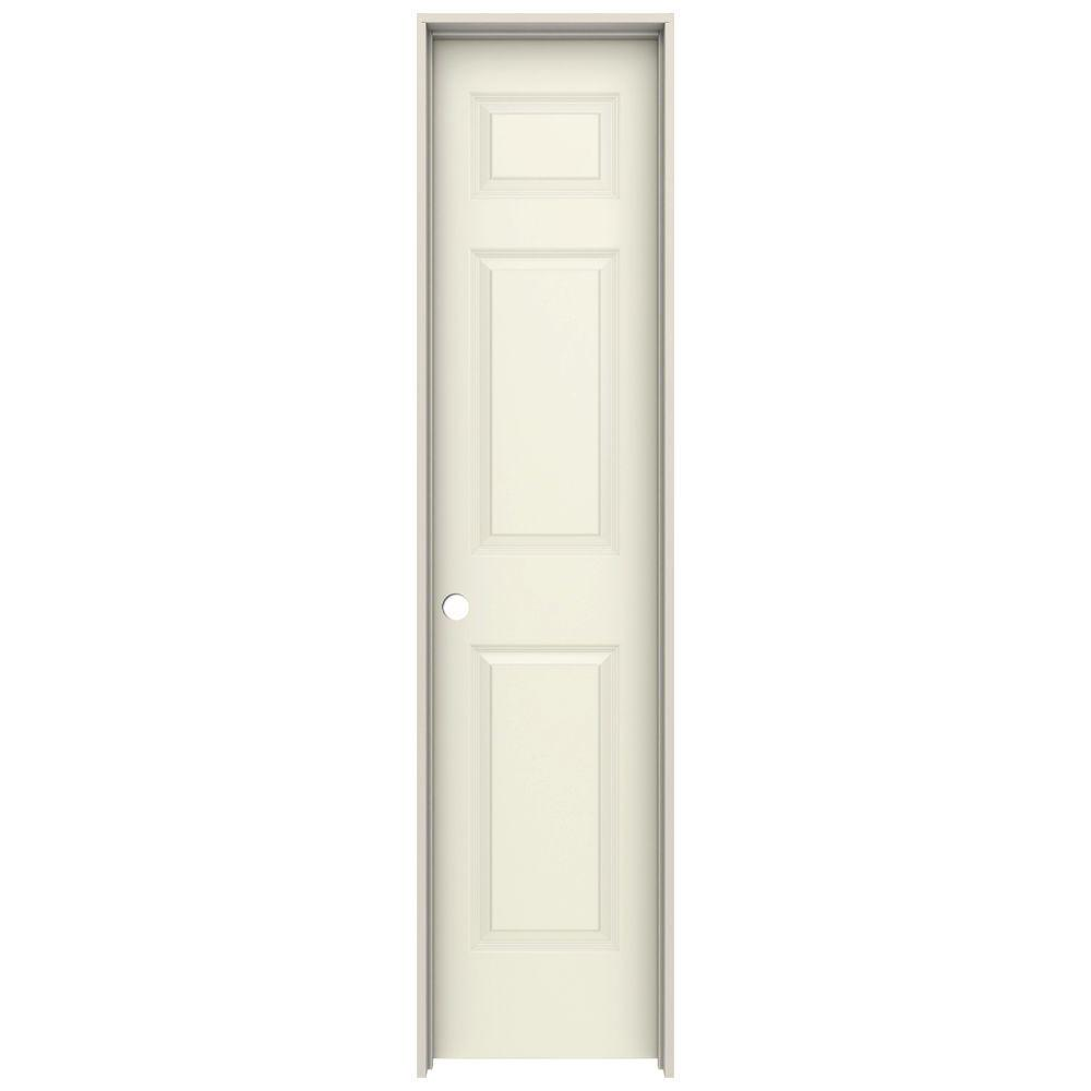 Charmant JELD WEN 18 In. X 80 In. Colonist Vanilla Painted Right Hand