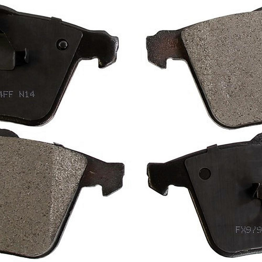 Monroe Brakes Front ProSolution Semi-Metallic Brake Pads