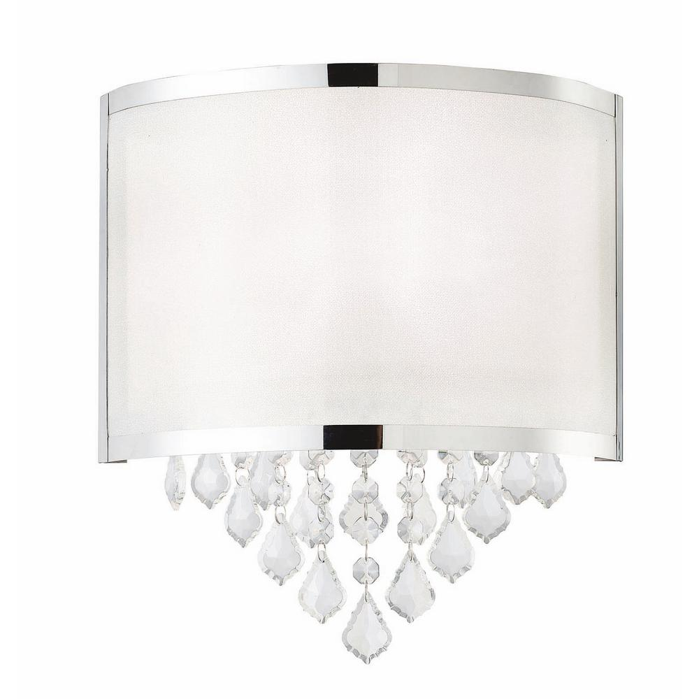Reese 1-Light Chrome Sconce