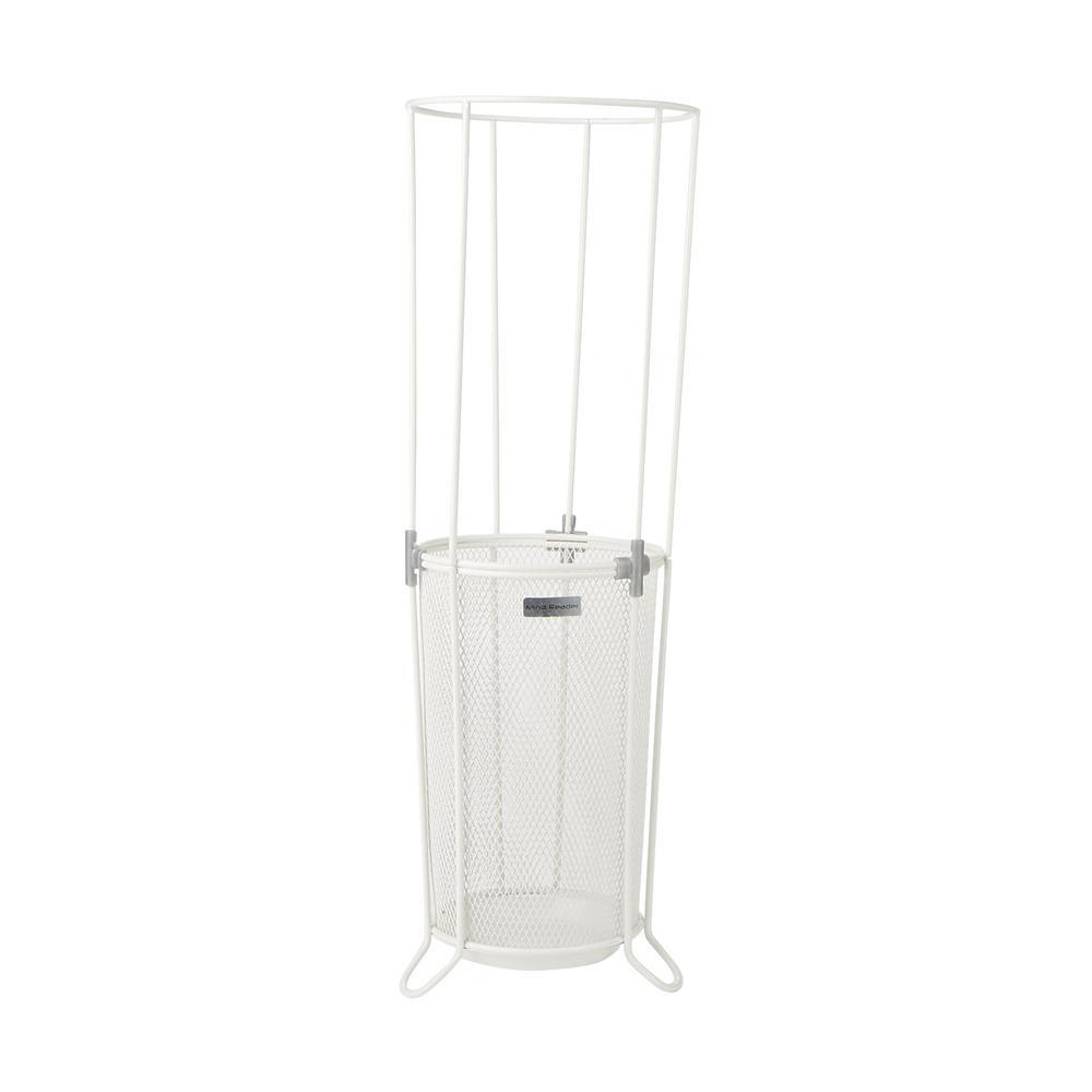 White Metal Umbrella Stand