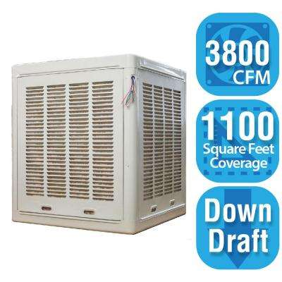 3,800 CFM Down-Draft Aspen Roof/Side Evaporative Cooler for 18 in. Ducts 1,100 sq. ft. (Motor Not Included)