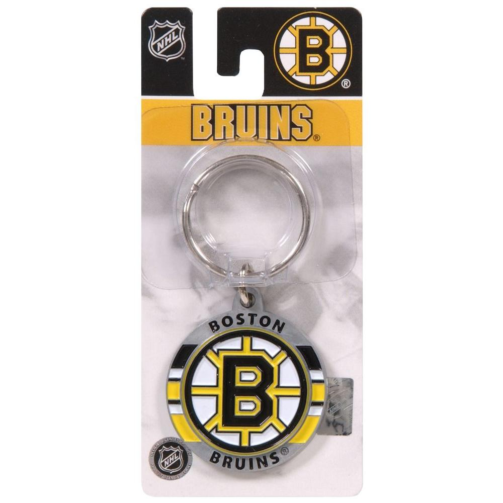 The Hillman Group NHL Boston Bruins Key Chain (3-Pack)
