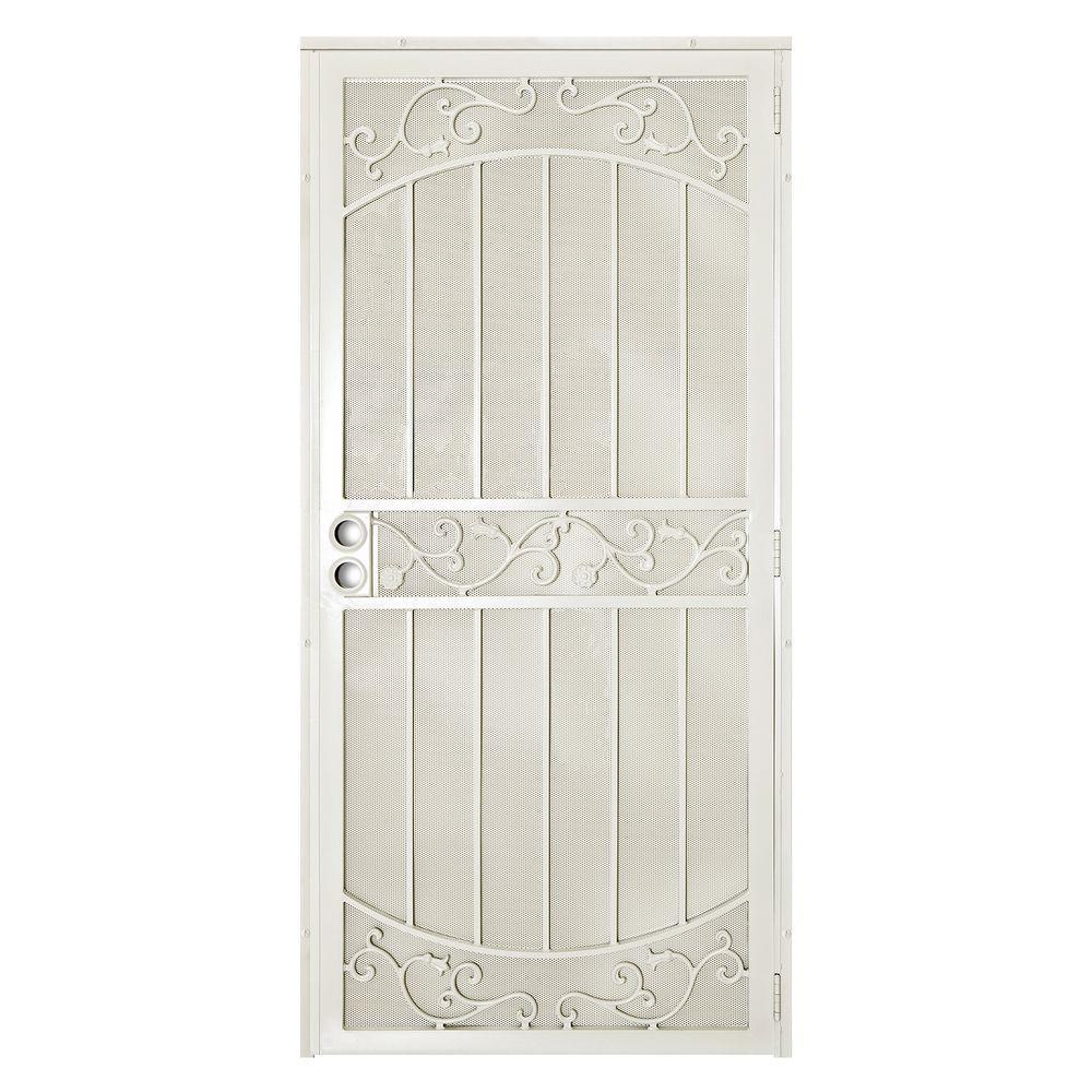 Home Depot Exterior Metal Doors: Unique Home Designs 36 In. X 80 In La Entrada Navajo White