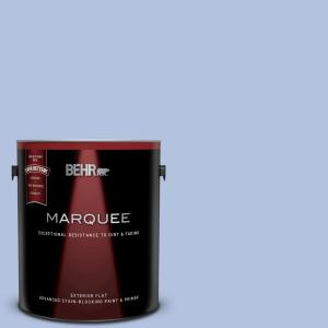Behr Marquee 1 Gal M540 3 Eternal Elegance Flat Exterior Paint And Primer In One 445001 The Home Depot
