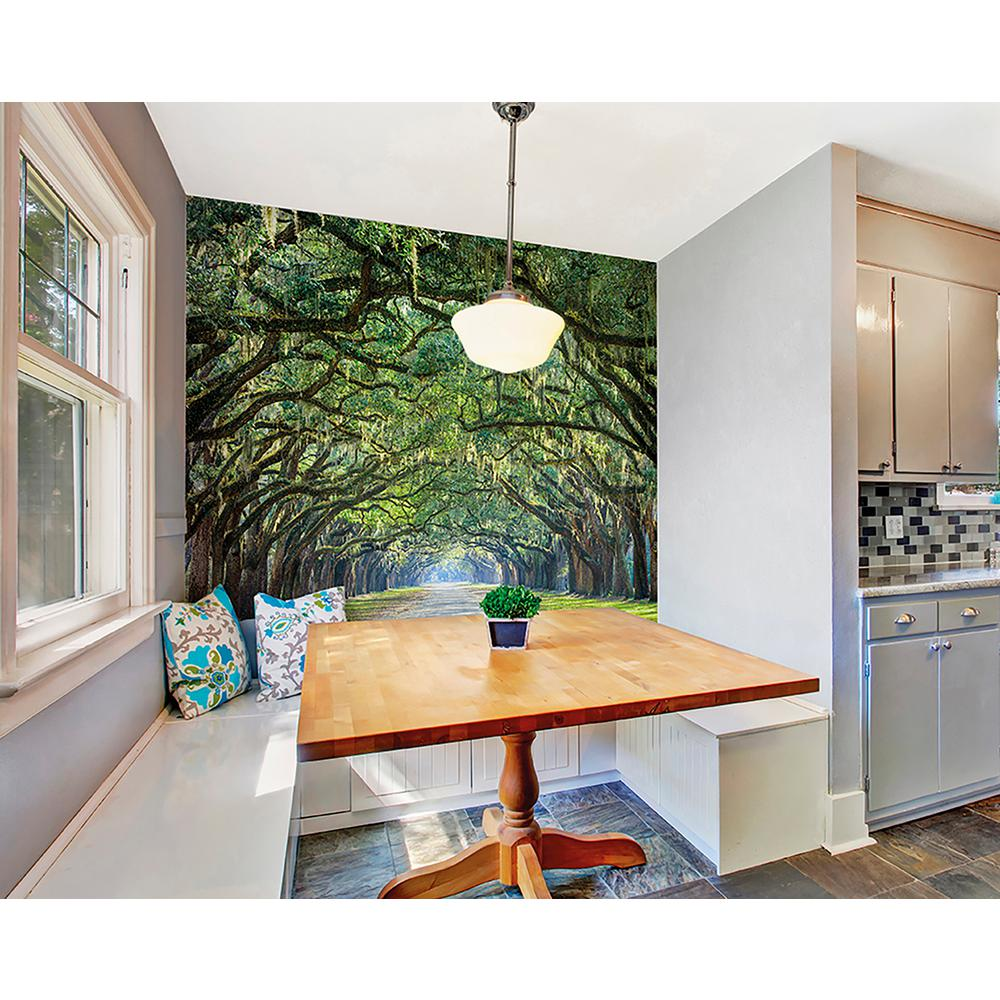 Brewster ye old trees wall mural wals0203 the home depot for Brewster wall mural