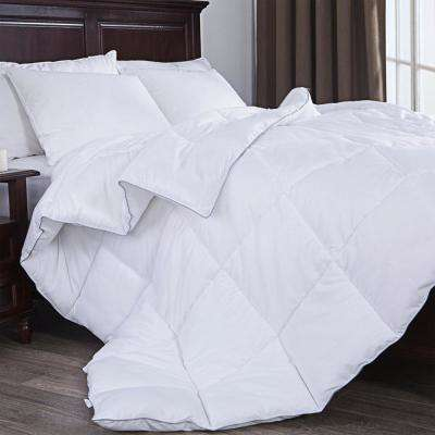 Down Alternative Comforter, Duvet Insert, White, King Size