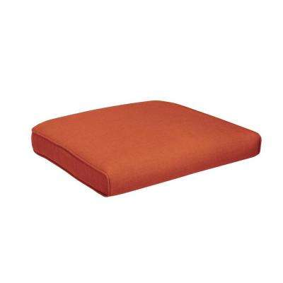Northshore Patio Dining Chair Replacement Cushions in Cinnabar